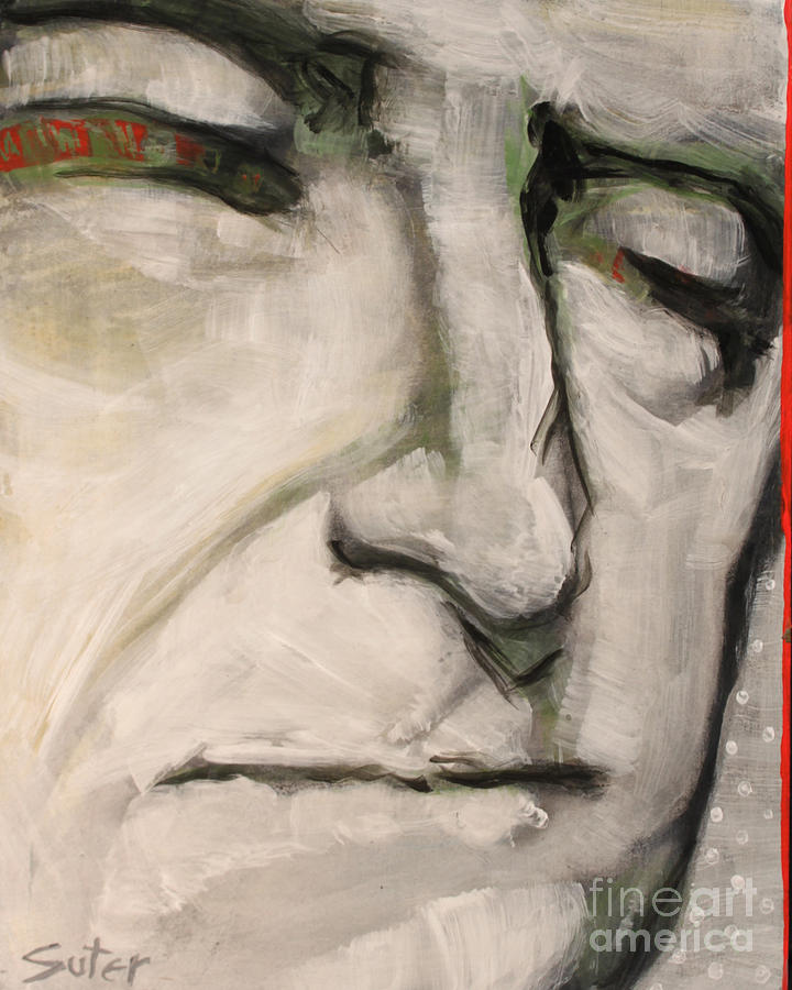 President Painting - 3.  Thomas Jefferson by Cindy Suter
