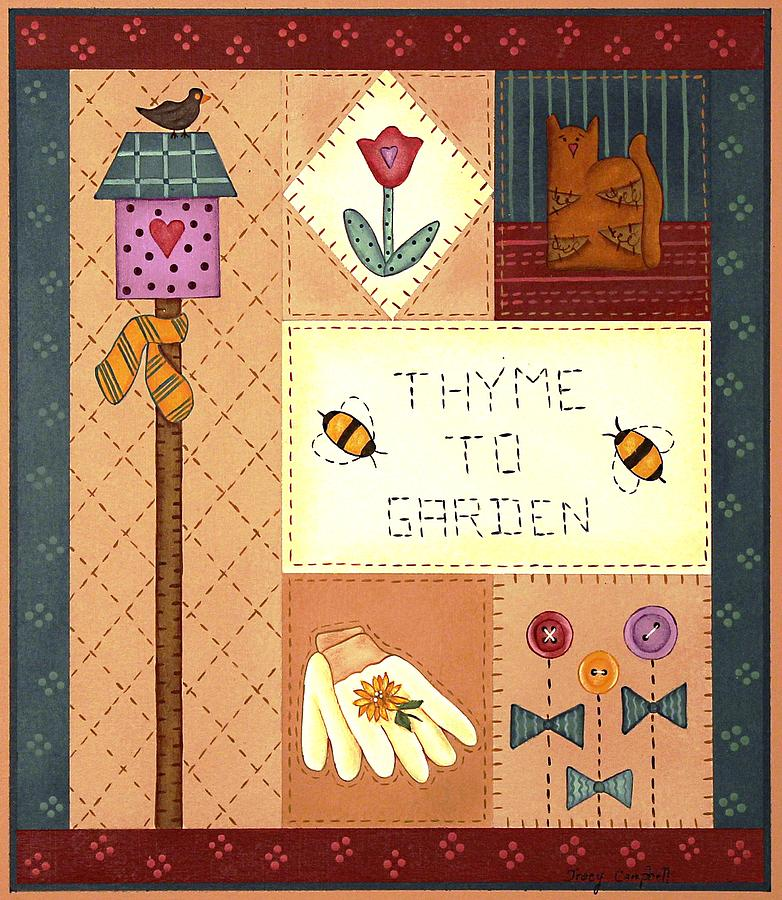 Thyme to Garden by Tracy Campbell