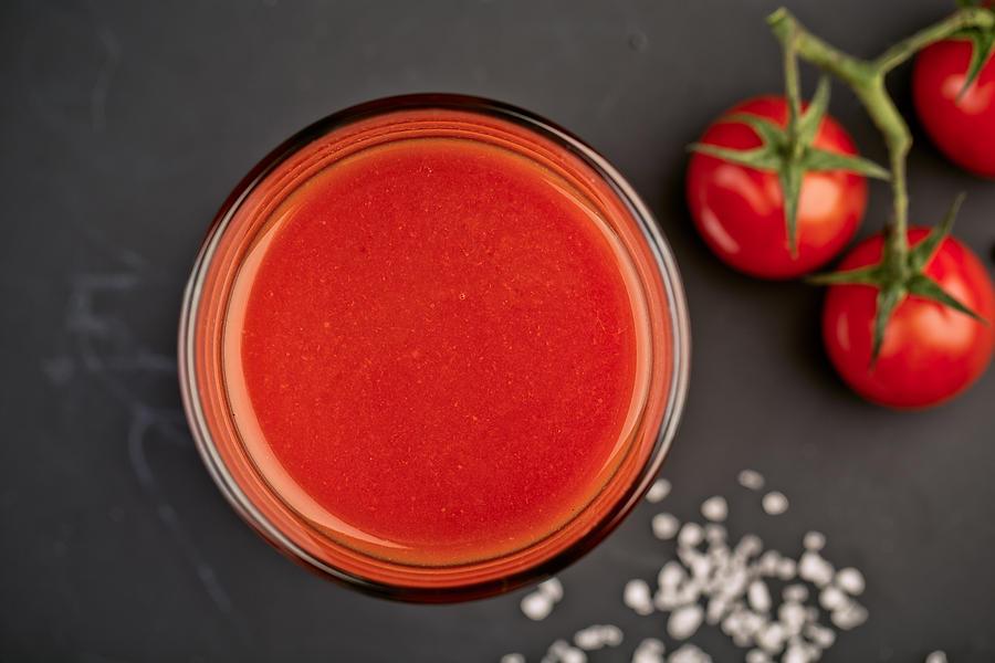 Tomato Juice Photograph