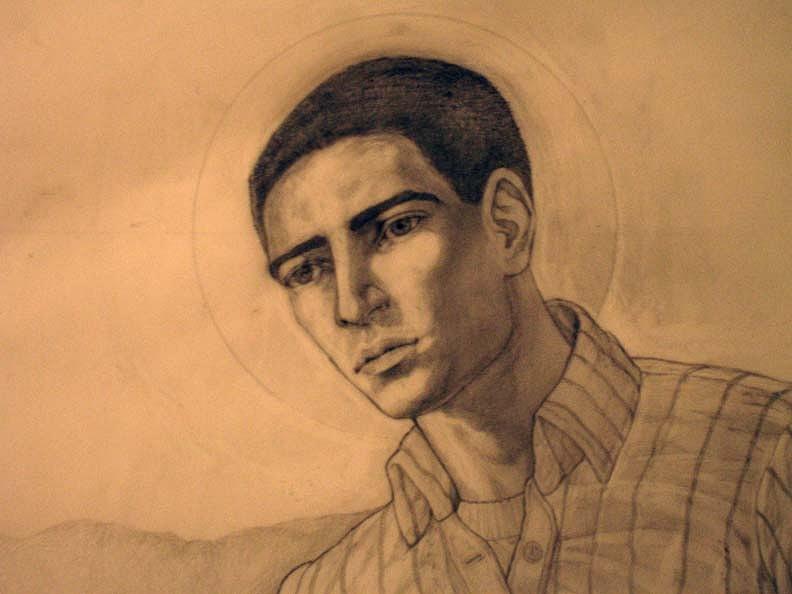 Portrait Sculpture - Toribio Romo by Patrick RANKIN
