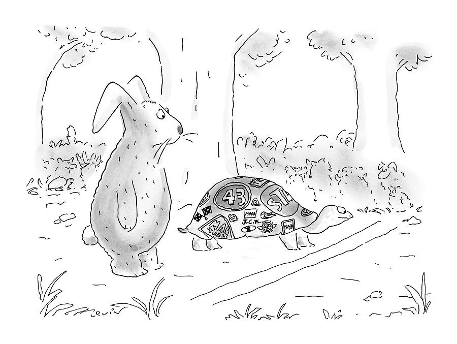 New Yorker August 21st, 2000 Drawing by Arnie Levin