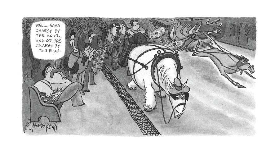 New Yorker June 5th, 2000 Drawing by Arnold Roth
