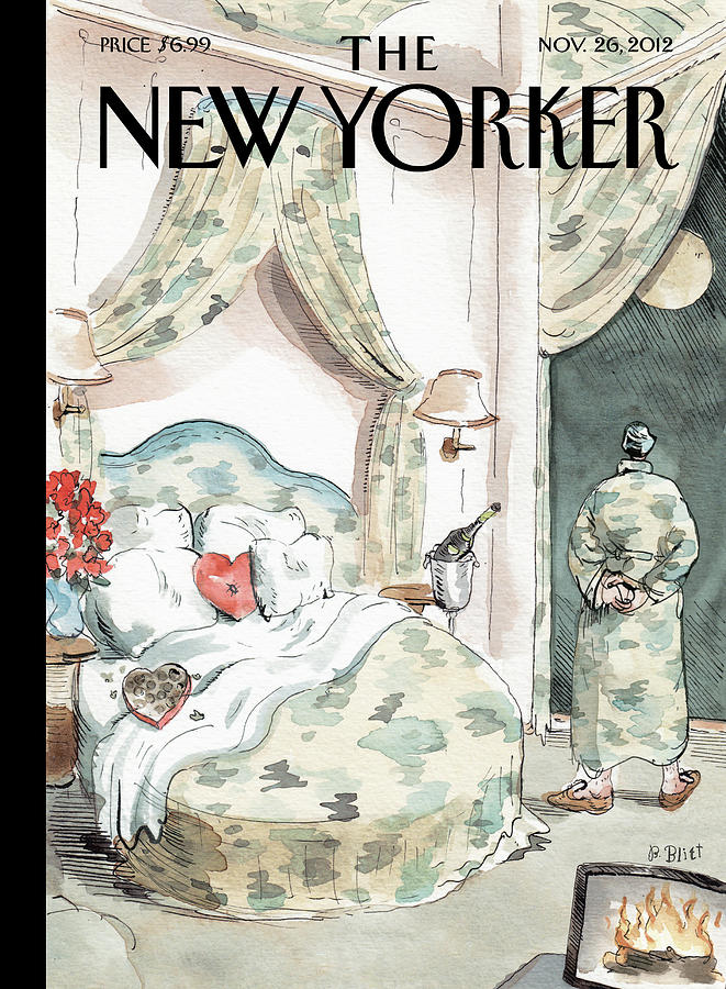 Camouflage Painting by Barry Blitt