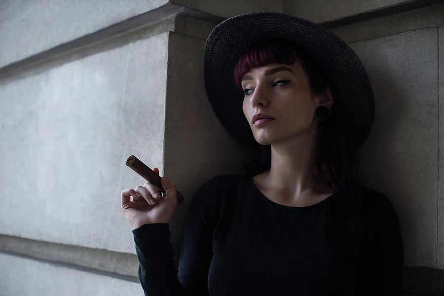 Cigar Photograph - Untitled by Bobby Kostadinov