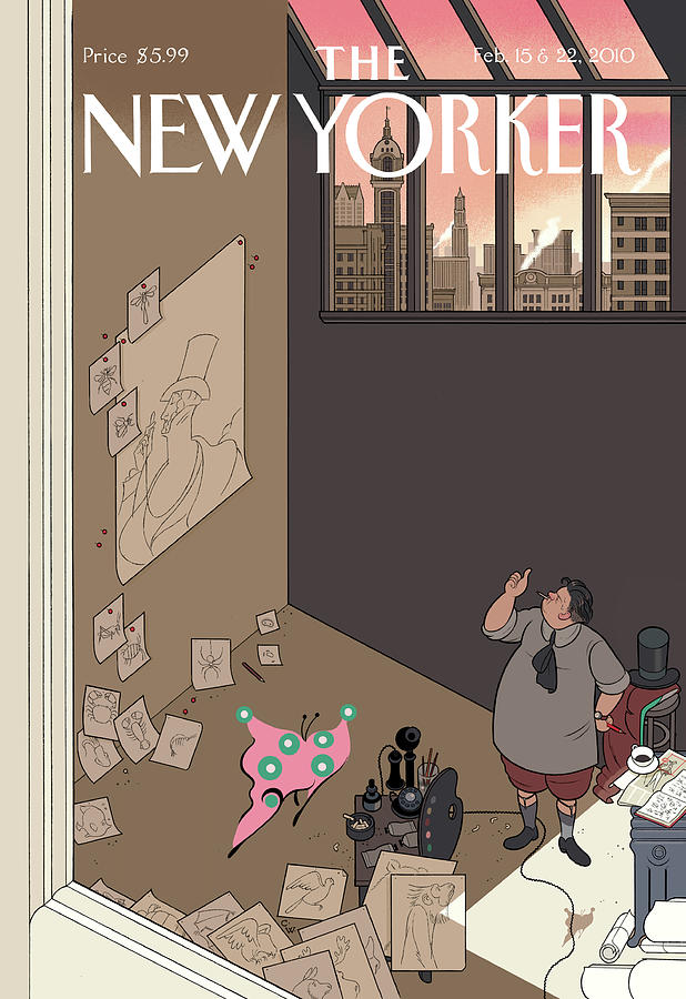 Natural Selection Painting by Chris Ware