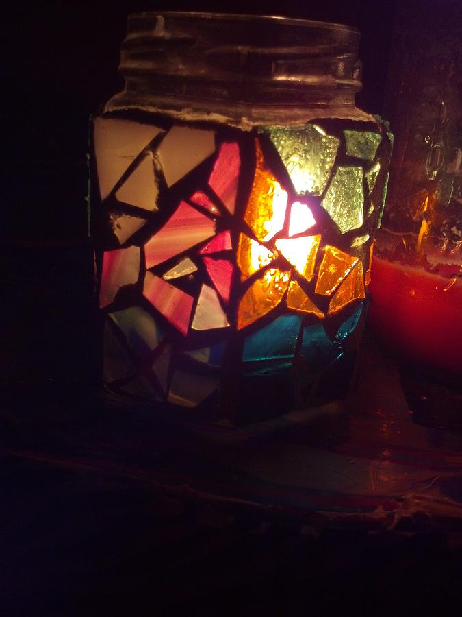Glass Glass Art - Untitled by Desirae Powlus