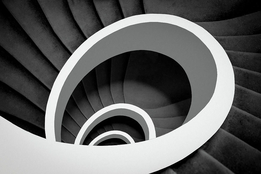 Spiral Photograph - Untitled by Inge Schuster