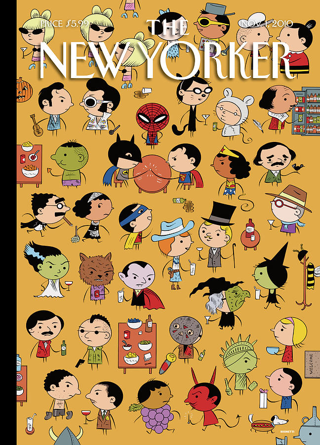 Dressed Down Painting by Ivan Brunetti