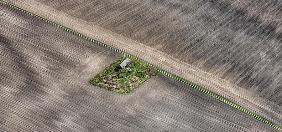 Aerial Photograph - Untitled by Krisztina Lacz