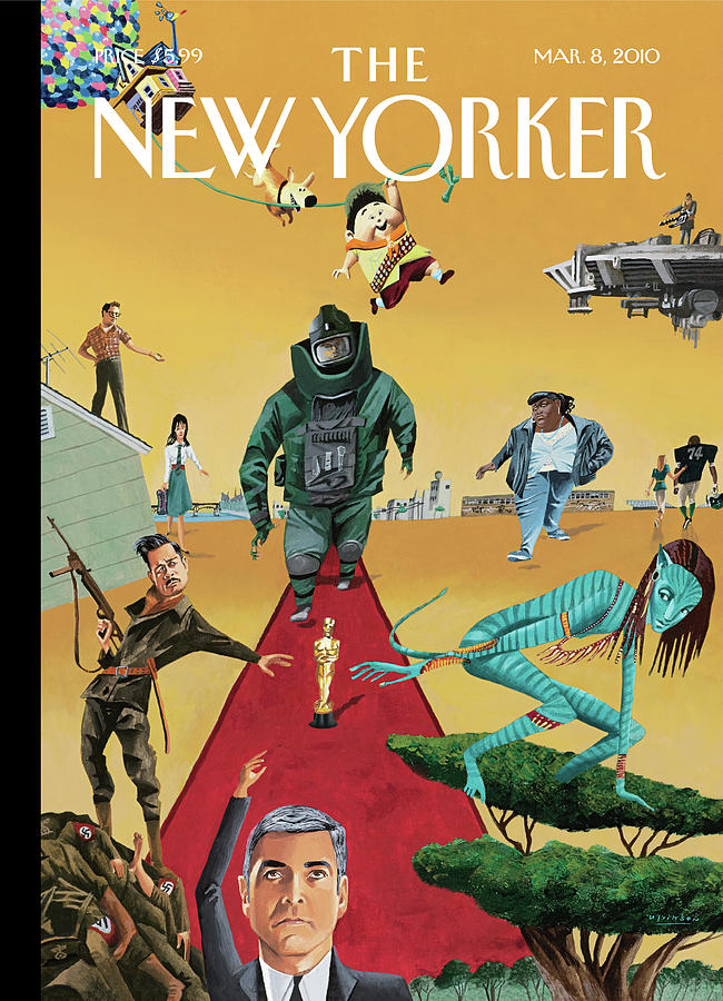 New Yorker March 8th, 2010 Painting by Mark Ulriksen