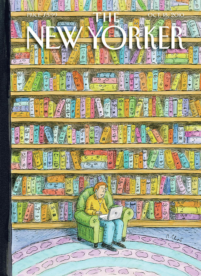 New Yorker October 18th, 2010 Painting by Roz Chast