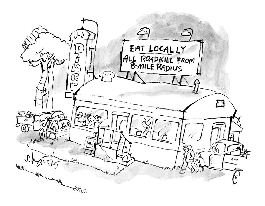 New Yorker November 24th, 2008 Drawing by Sidney Harris