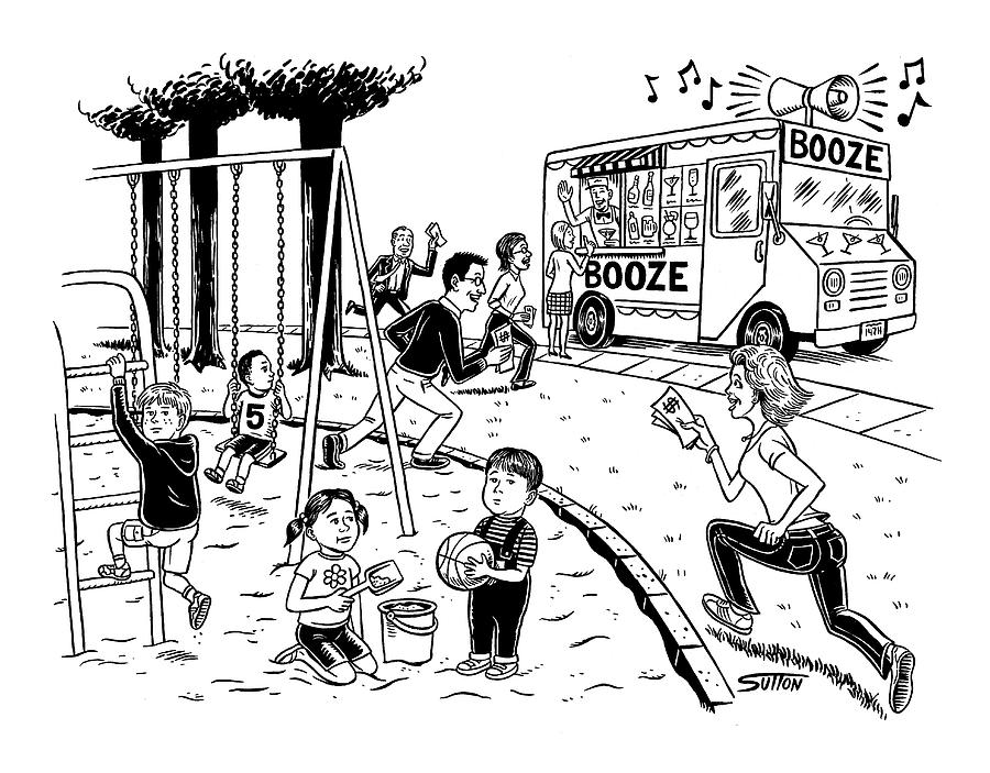 New Yorker July 21st, 2008 Drawing by Ward Sutton