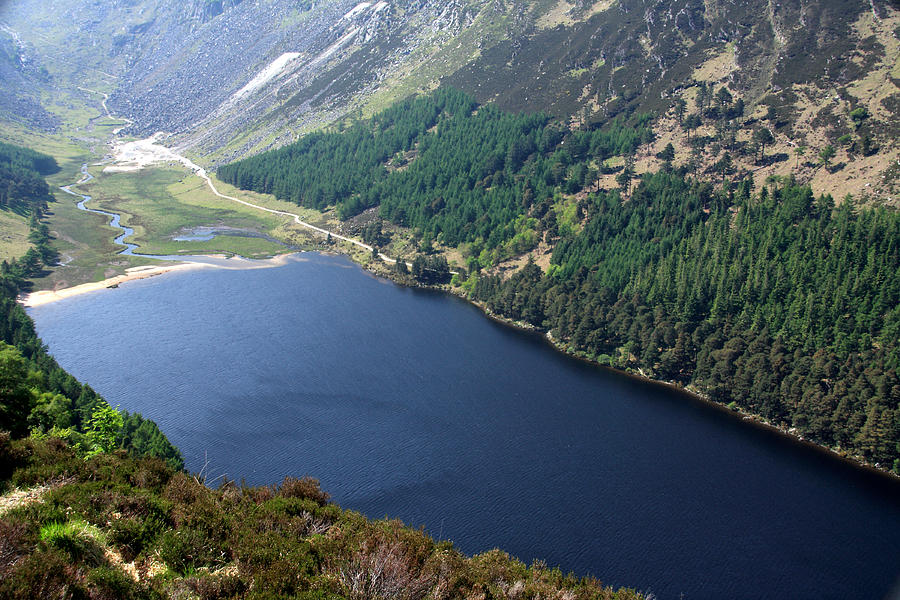 Upper Lake At Glendalough, Wicklow Photograph