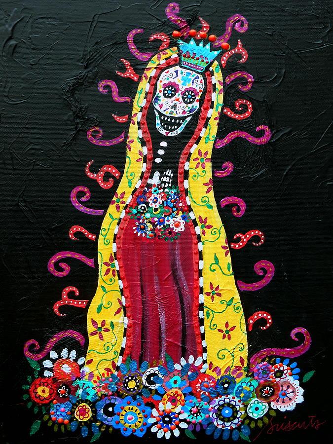 Virgin Guadalupe Painting By Pristine Cartera Turkus