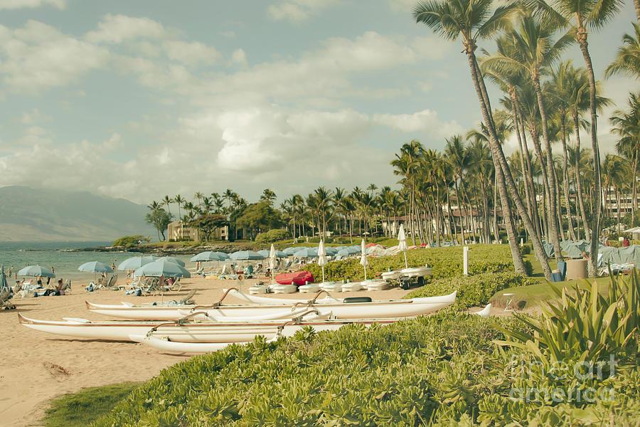 Aloha Photograph - Wailea Beach Maui Hawaii by Sharon Mau