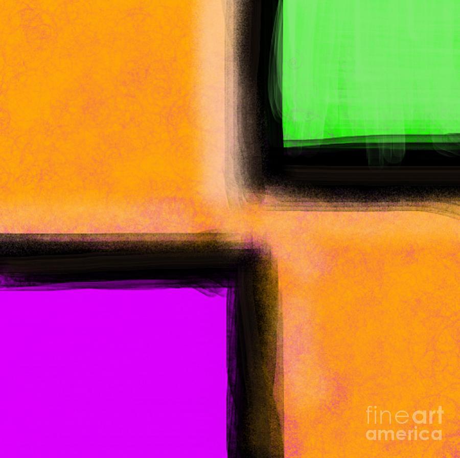 Three Way Digital Art - 3 Way by James Eye