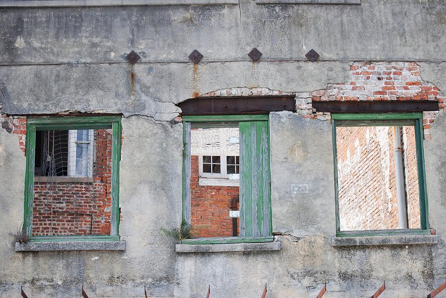 Windows Photograph - 3 Windows by Pamela Schreckengost