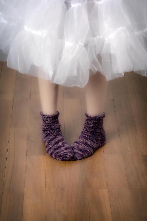 Feet Photograph - Woollen Socks by Joana Kruse
