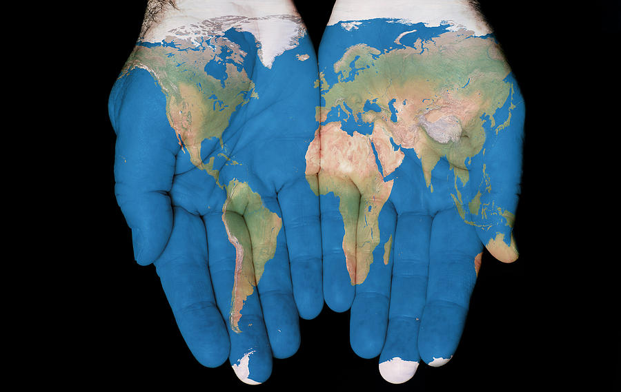 World In Our Hands by Jim Vallee