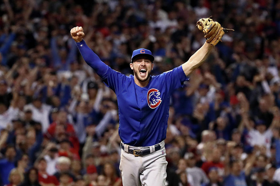 World Series - Chicago Cubs V Cleveland Photograph by Ezra Shaw