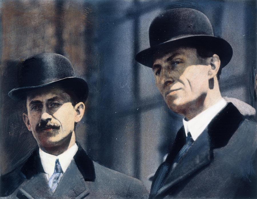 19th Century Photograph - Wright Brothers by Granger