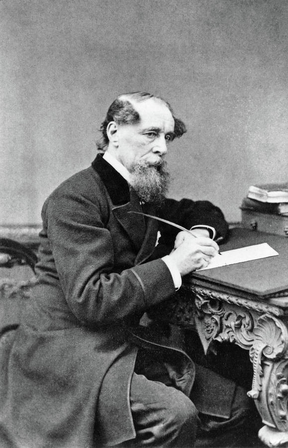 1867 Photograph - Charles Dickens (1812-1870) by Granger