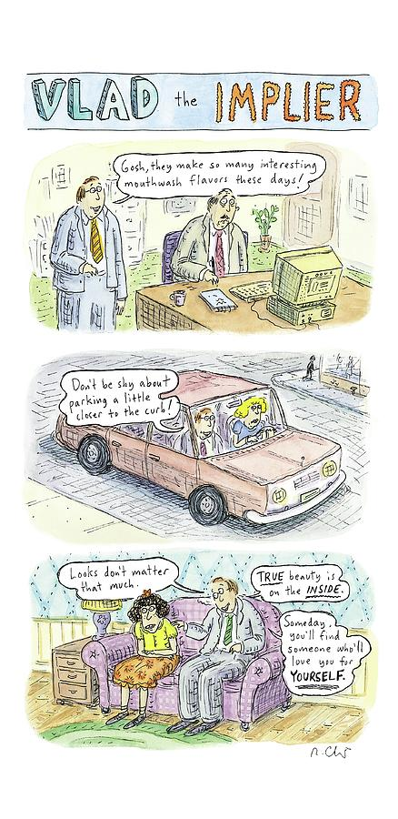 New Yorker May 19th, 2008 Drawing by Roz Chast