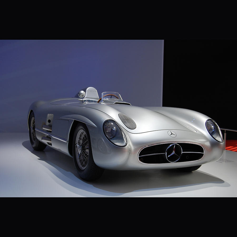 Mercedes Photograph - 300slr by Jos Van de Venne