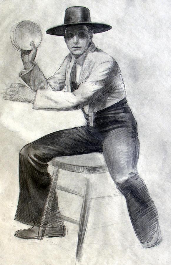 Tambourine Man by Robert Poole