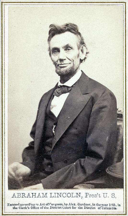 1865 Photograph - Abraham Lincoln (1809-1865) by Granger