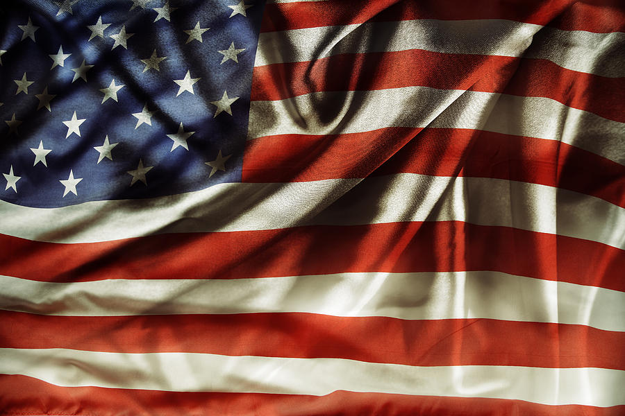 American Flag No.240 Photograph