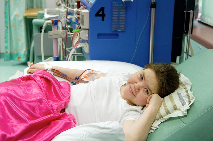 Equipment Photograph - Paediatric Dialysis Unit by Life In View/science Photo Library