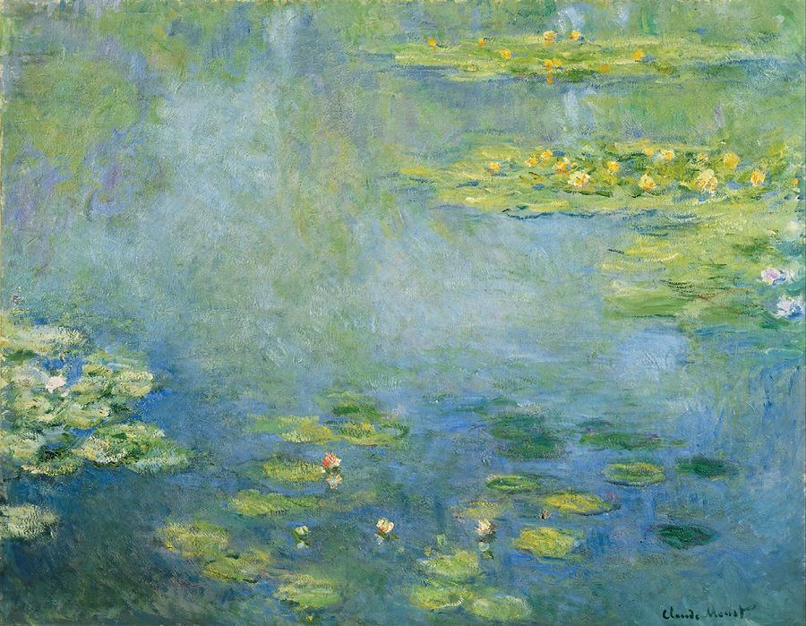 1906 Painting - Water Lilies by Claude Monet