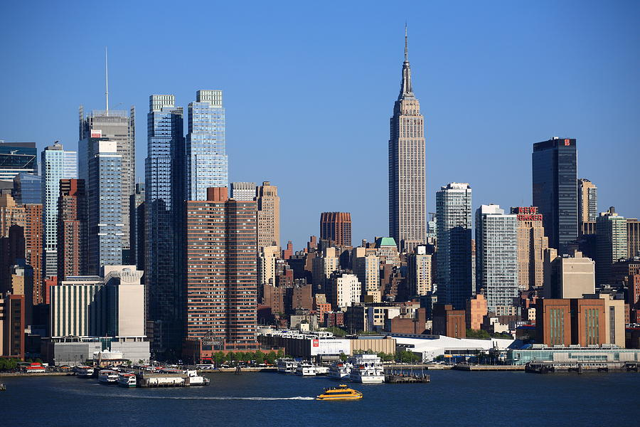 New york city skyline photograph by frank romeo for Us city skylines photos