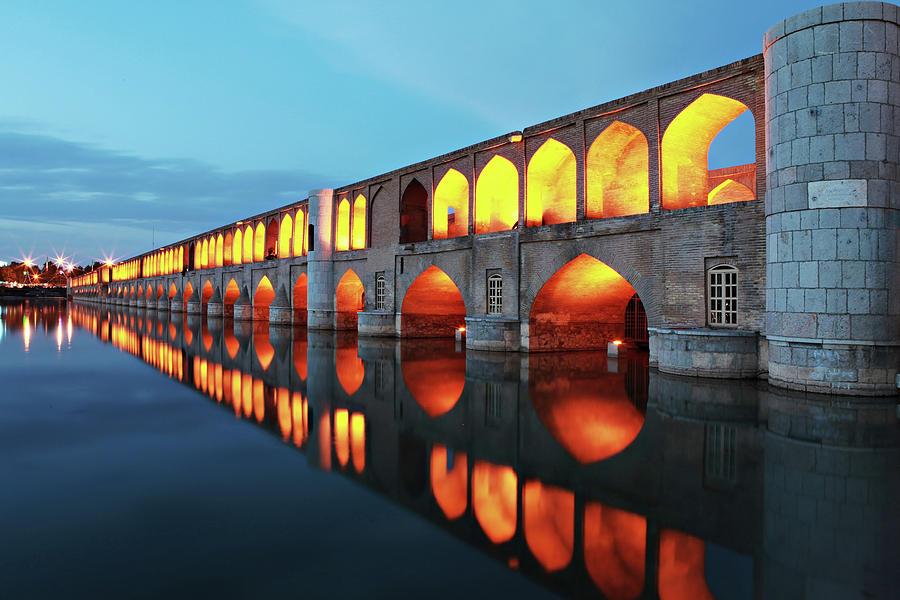 Reflection Photograph - 33 Pol by Mohammadreza Momeni
