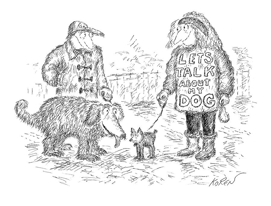 New Yorker March 3rd, 2008 Drawing by Edward Koren