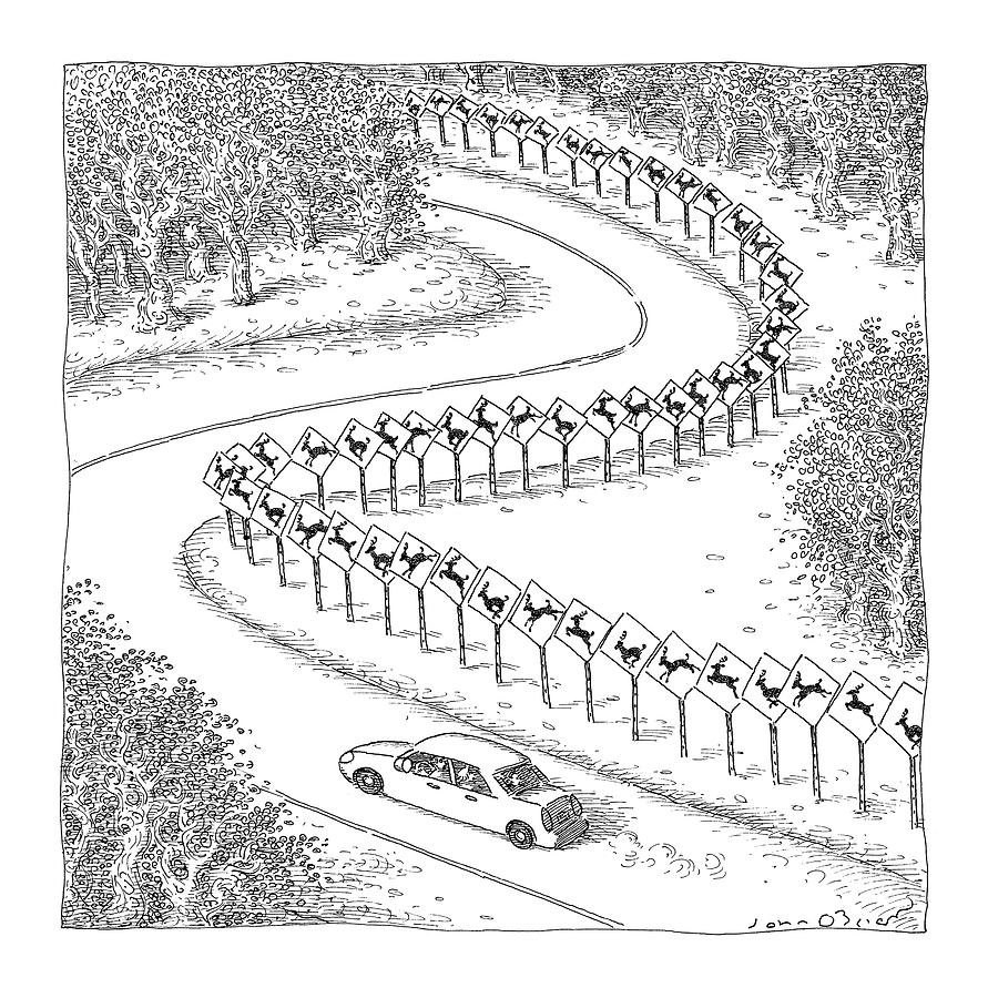 New Yorker December 6th, 2004 Drawing by John OBrien