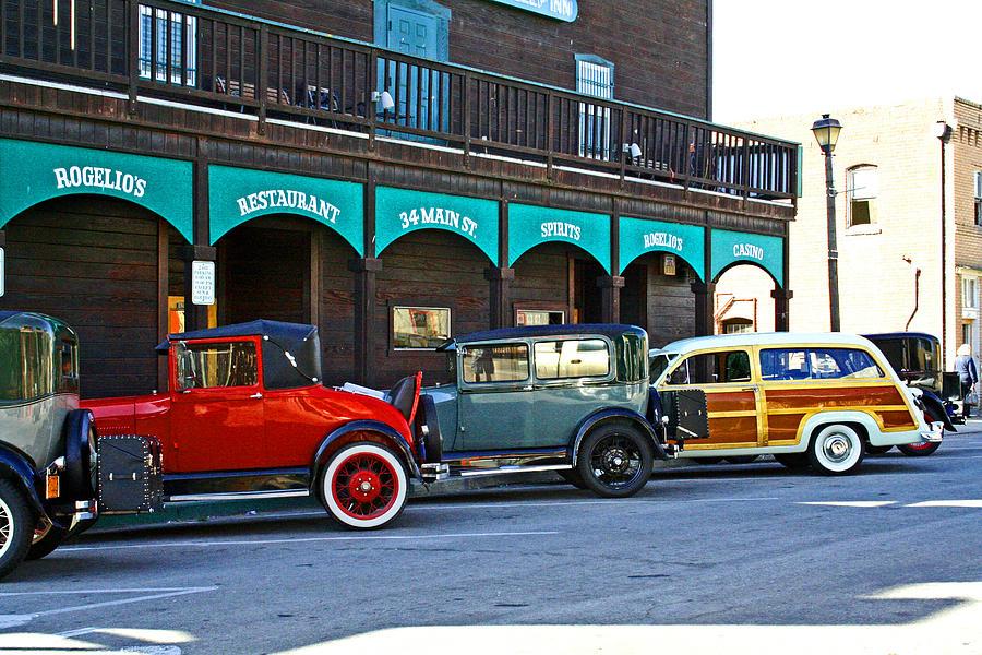 Vintage Cars Digital Art - 34 Main St Isleton by Joseph Coulombe