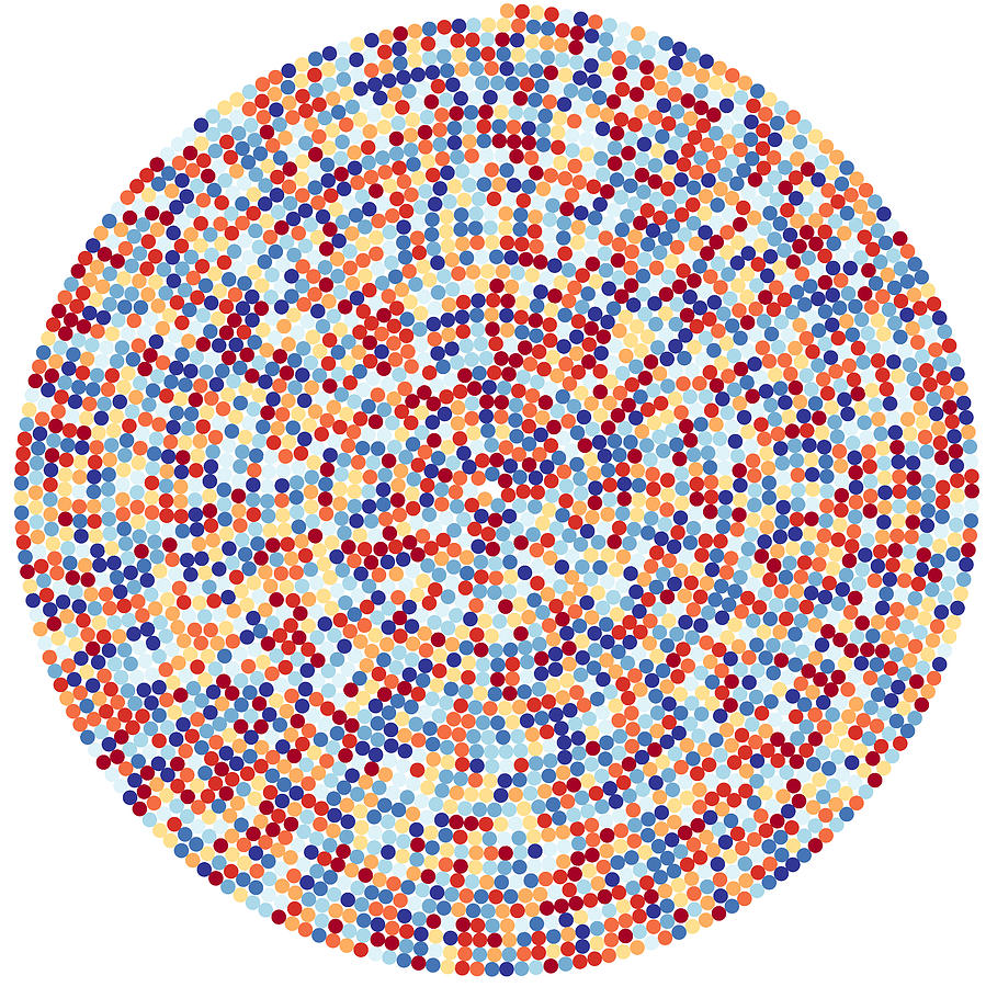 Pi Digital Art - 3422 Digits Of Pi by Martin Krzywinski