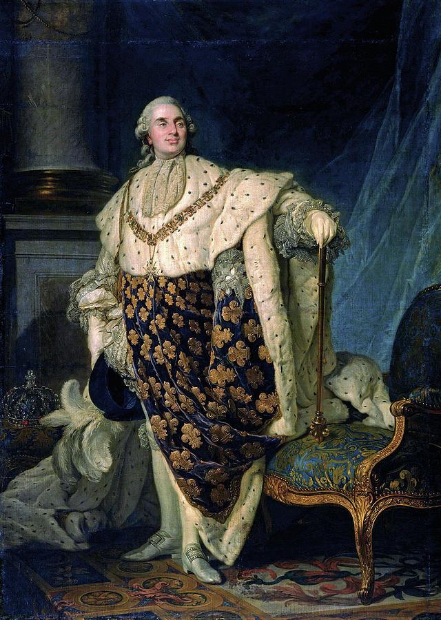 Louis Xvi (1754-1793) Painting by Granger