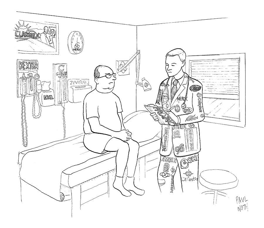 New Yorker July 7th, 2008 Drawing by Paul Noth
