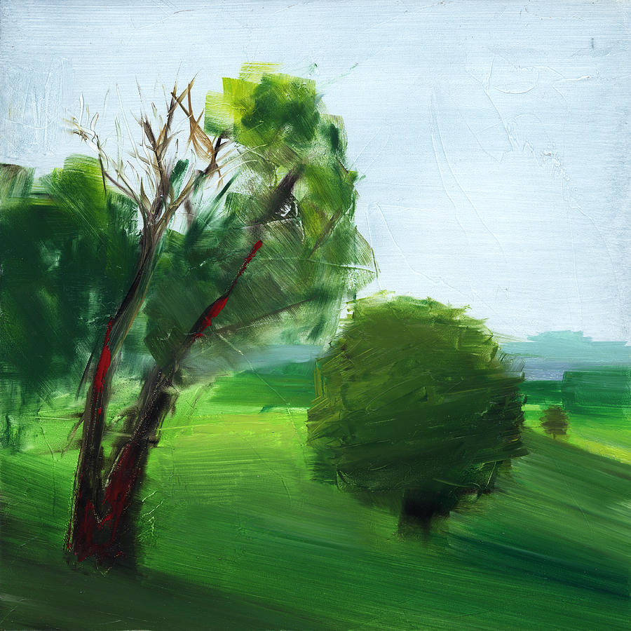 Green Painting - Rcnpaintings.com by Chris N Rohrbach
