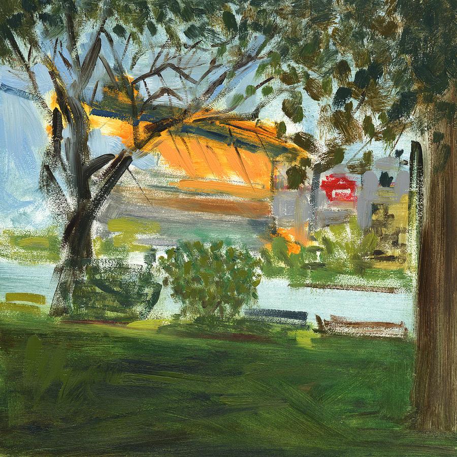 Steelers Painting - Rcnpaintings.com by Chris N Rohrbach
