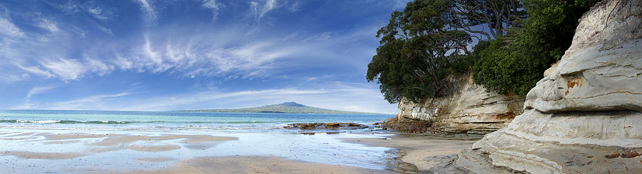Beach Photograph - New Zealand by Les Cunliffe