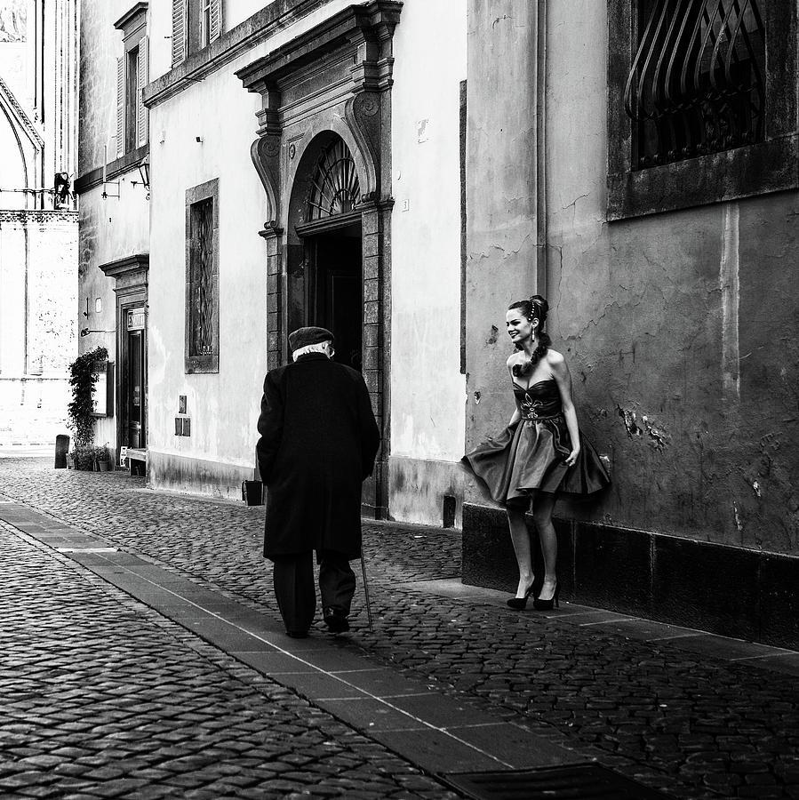 Bw Photograph - Untitled by Massimo Della Latta