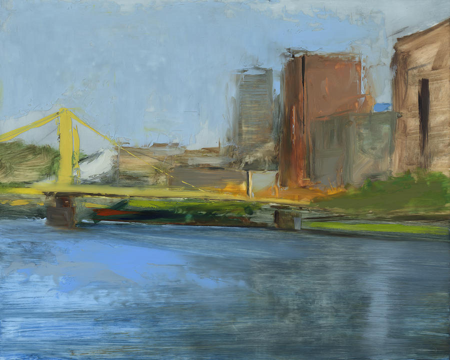 Bridges Painting - Rcnpaintings.com by Chris N Rohrbach