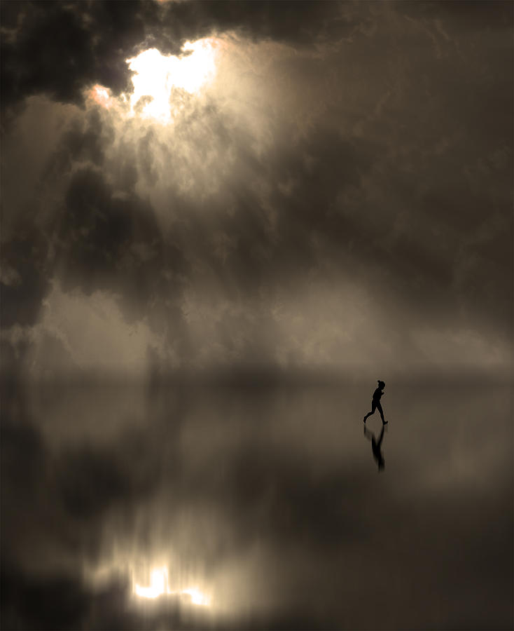 Girl Photograph - 3762 by Peter Holme III