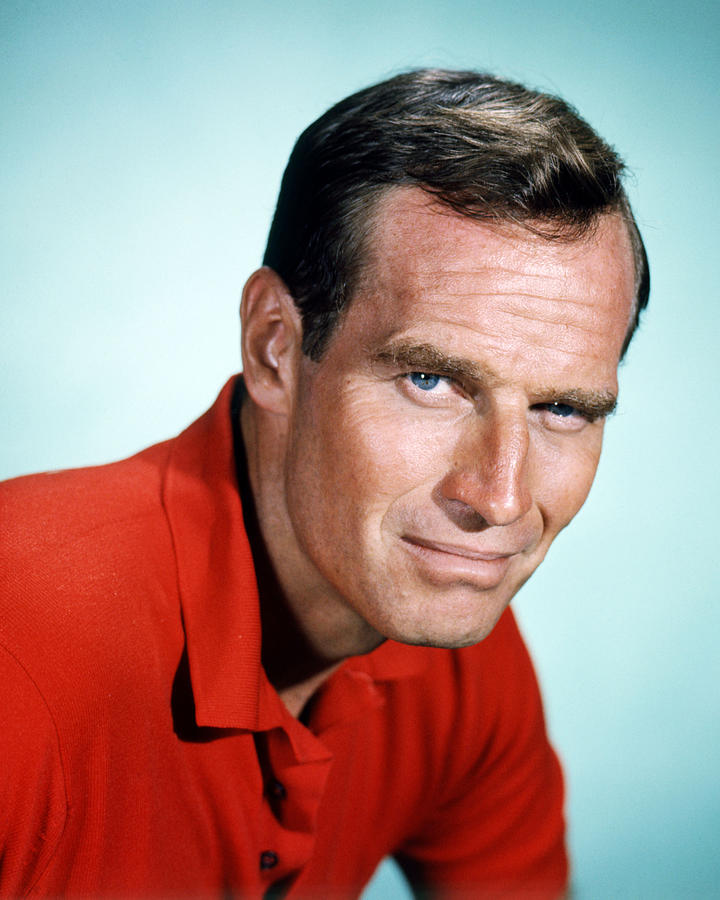 Charlton Heston Photograph - Charlton Heston by Silver Screen