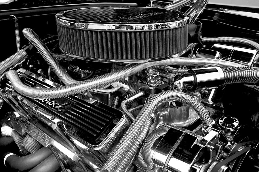 Chevy Photograph - 383 Small Block by Mike Maher